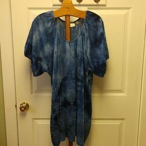 Avenue Tunic Blue with Embellishments 26/28